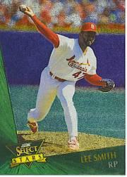 1993 Select Chase Stars #12 Lee Smith