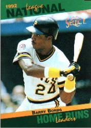 1993 Select Stat Leaders #29 Barry Bonds