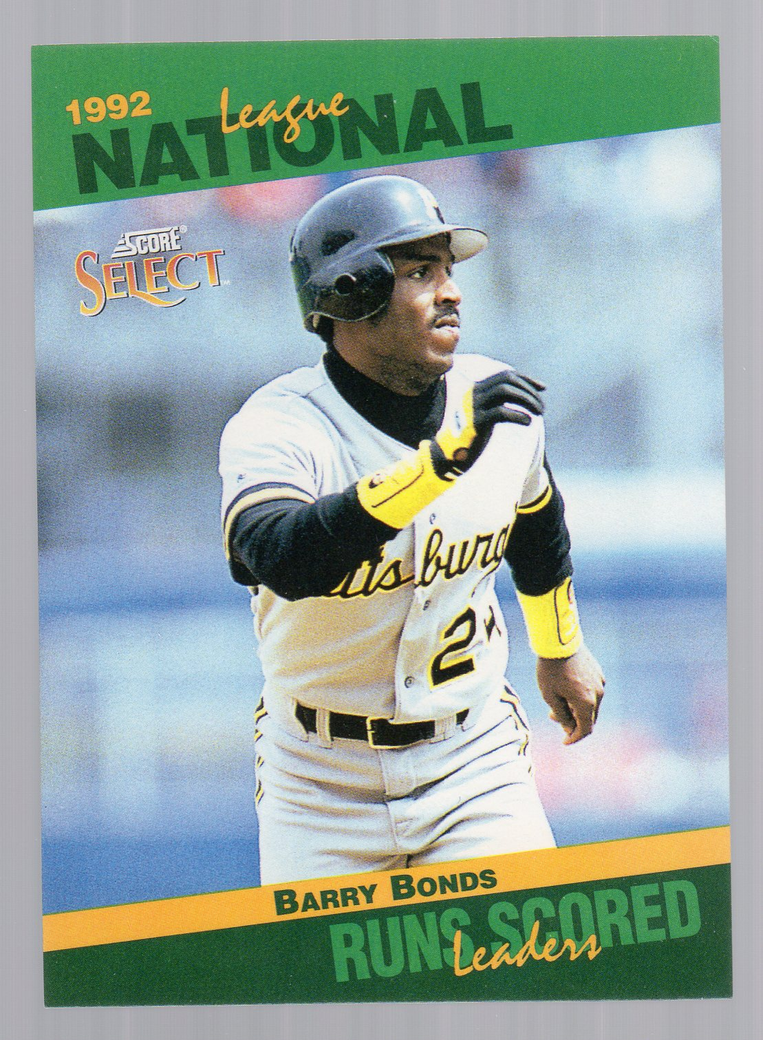 1993 Select Stat Leaders #40 Barry Bonds