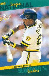 1993 Select Stat Leaders #46 Barry Bonds