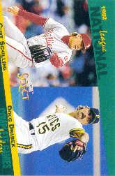 1993 Select Stat Leaders #65 C.Schilling/D.Drabek