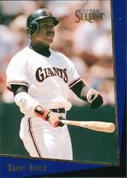 1993 Select Rookie/Traded #23T Barry Bonds