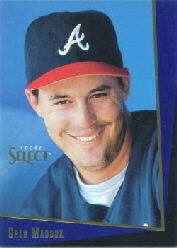 1993 Select Rookie/Traded #123T Greg Maddux front image