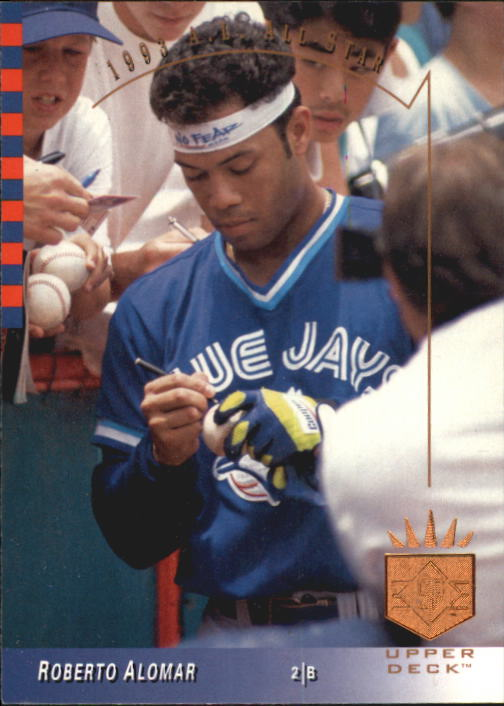 1993 SP #1 Roberto Alomar AS