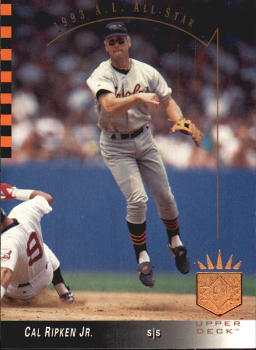 1993 SP #8 Cal Ripken AS