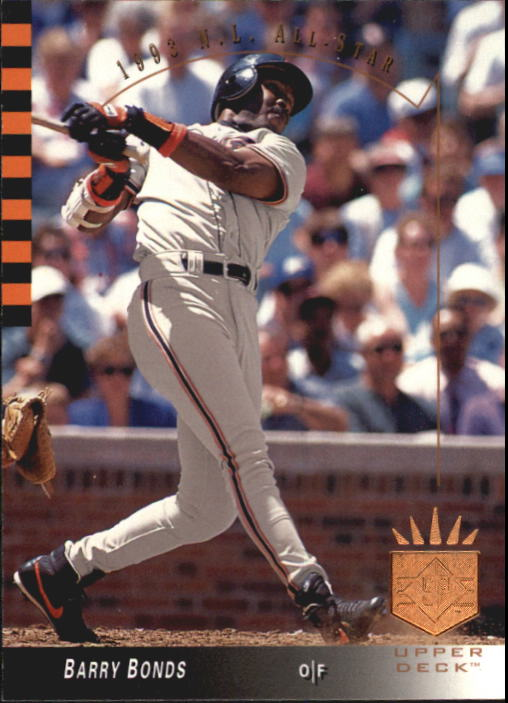 1993 SP #10 Barry Bonds AS