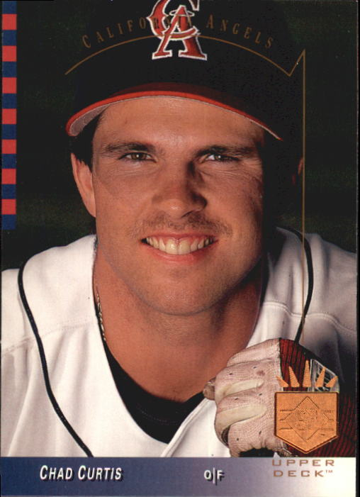 1993 SP #19 Chad Curtis