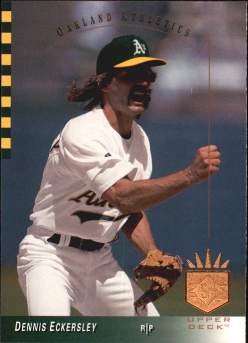 1993 SP #38 Dennis Eckersley