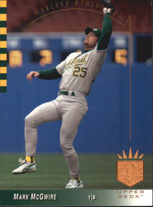 1993 SP #41 Mark McGwire