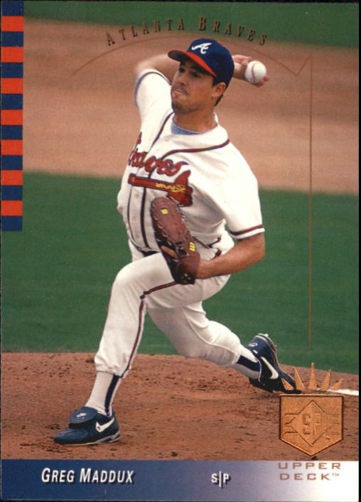 1993 SP #59 Greg Maddux