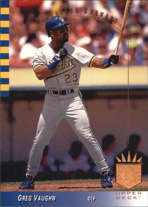 1993 SP #71 Greg Vaughn