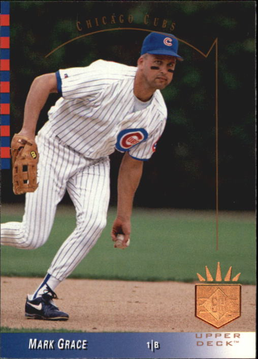 1993 SP #83 Mark Grace