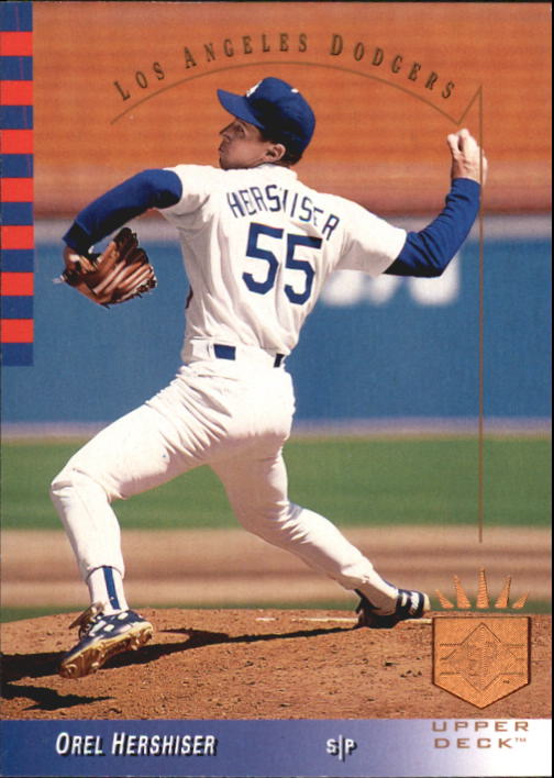 1993 SP #93 Orel Hershiser