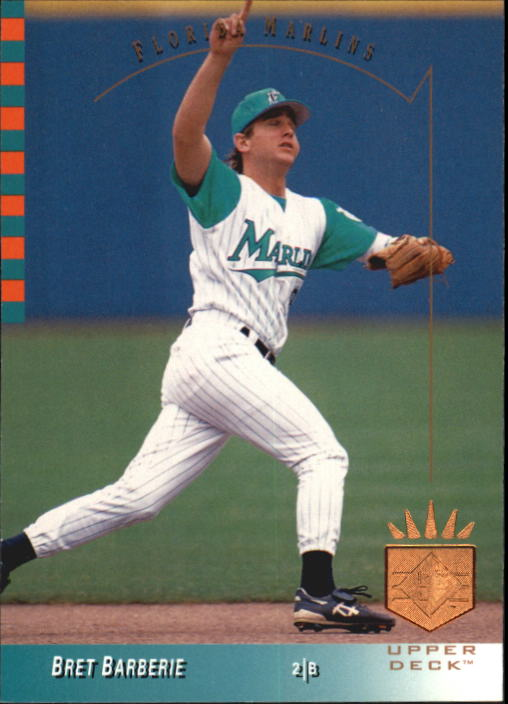1993 SP #136 Bret Barberie
