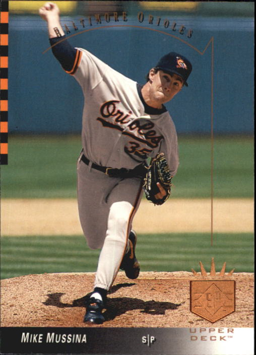 1993 SP #160 Mike Mussina