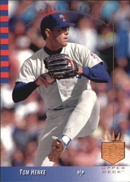 1993 SP #195 Tom Henke