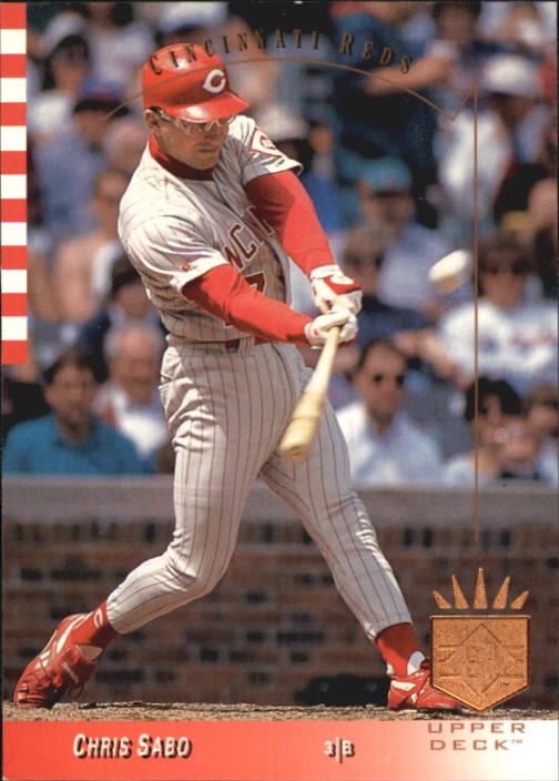 1993 SP #215 Chris Sabo