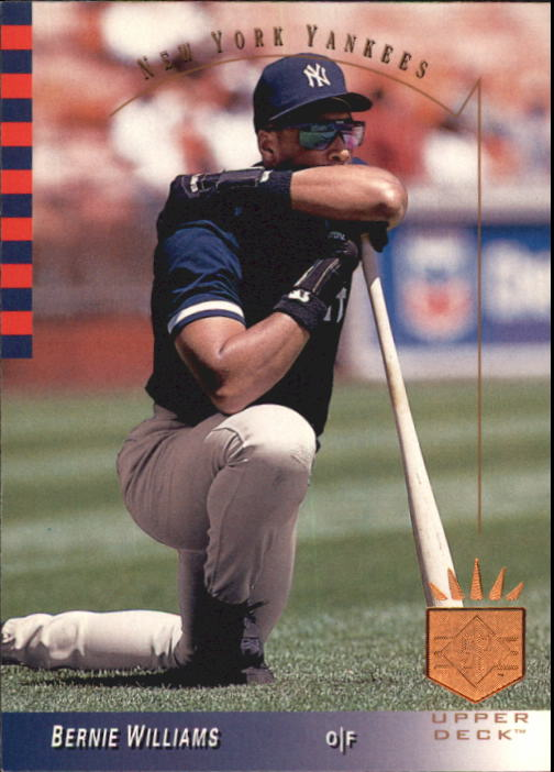 1993 SP #270 Bernie Williams