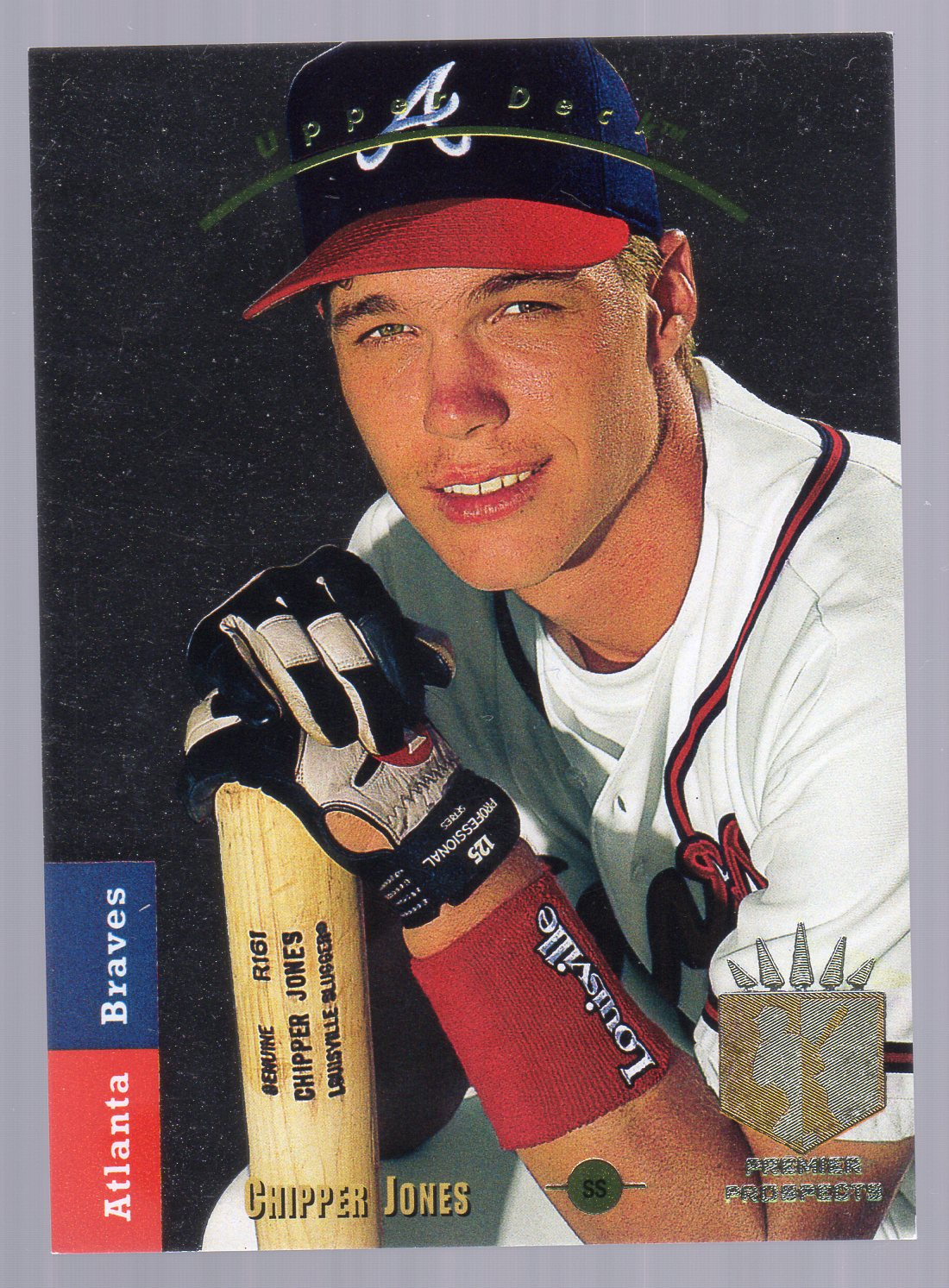 1993 SP #280 Chipper Jones FOIL