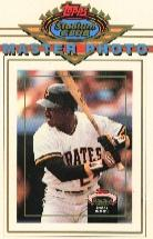 1993 Stadium Club Master Photos #25 Barry Bonds
