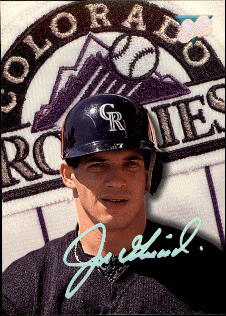 1993 Studio #188 Joe Girardi