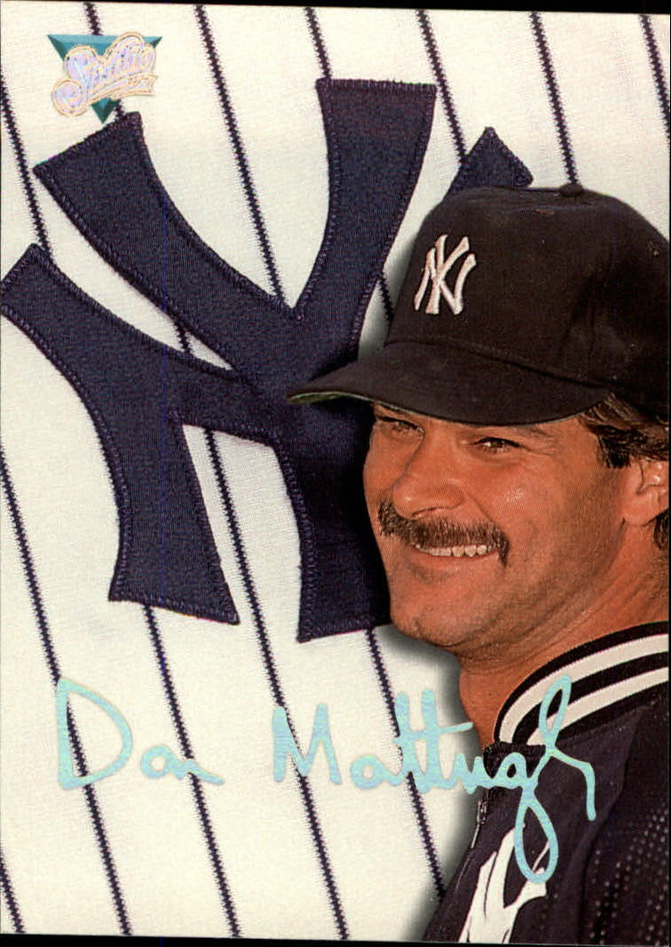1993 Studio #193 Don Mattingly