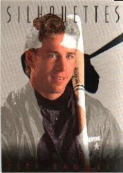 1993 Studio Silhouettes #3 Jeff Bagwell