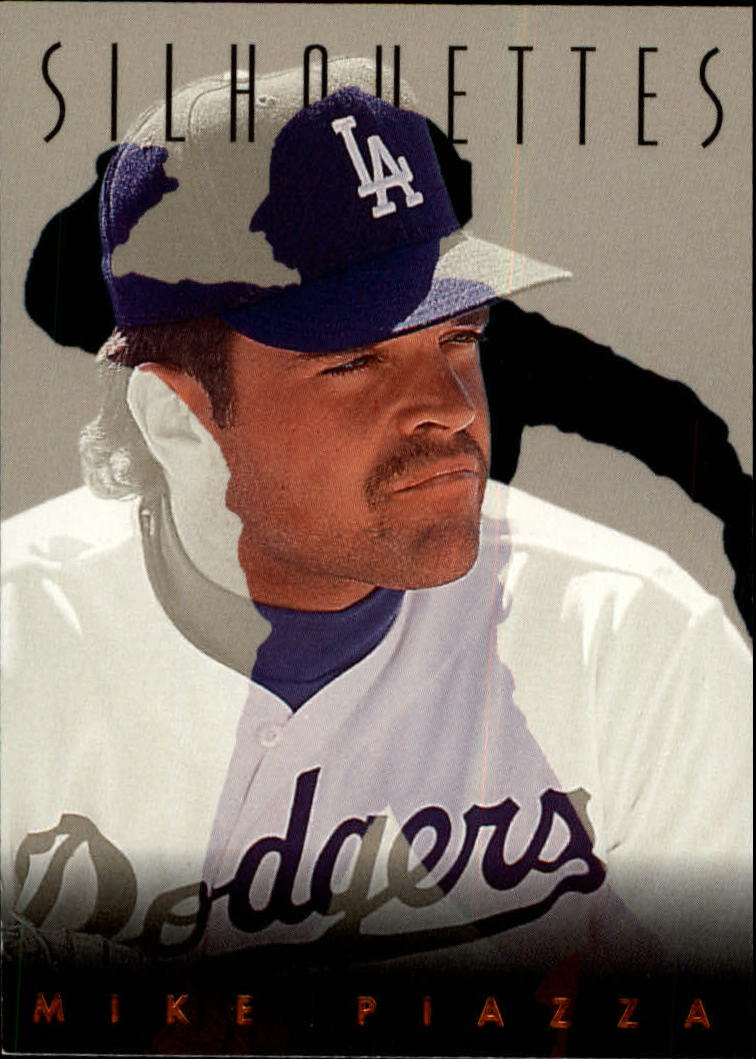 1993 Studio Silhouettes #9 Mike Piazza