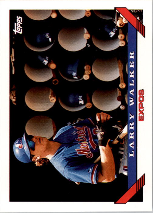 1993 Topps #95 Larry Walker