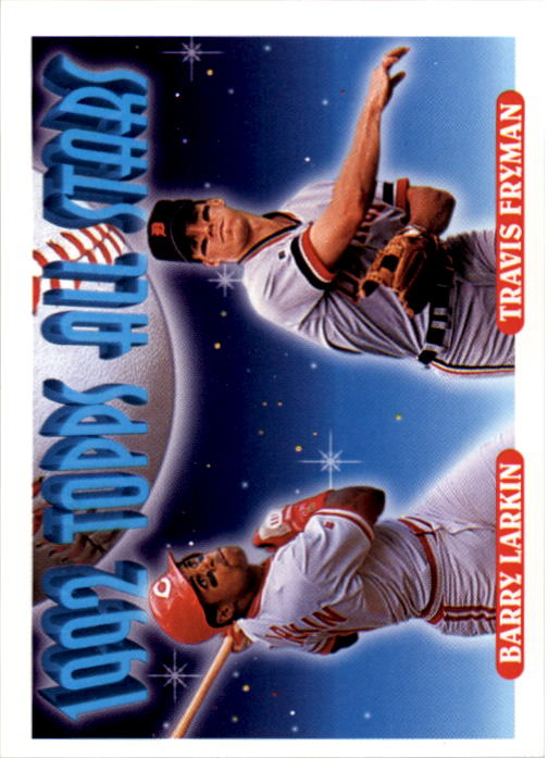 1993 Topps #404 Barry Larkin/Travis Fryman AS