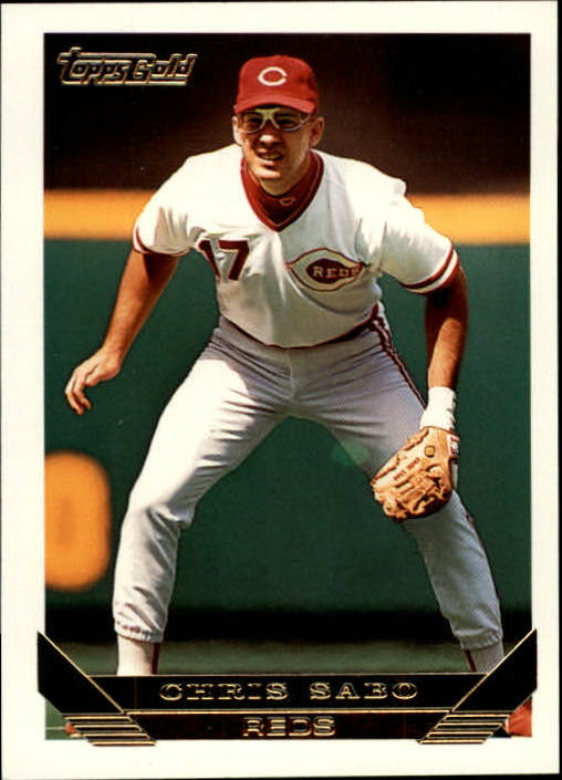 1993 Topps Gold #245 Chris Sabo