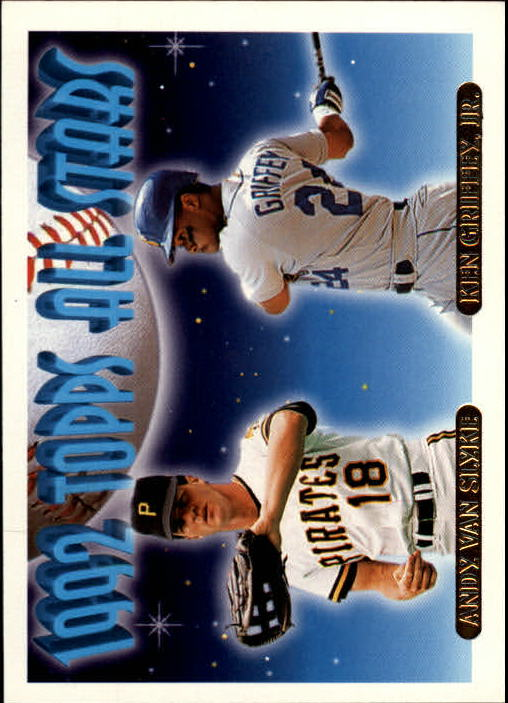 1993 Topps Gold #405 A.Van Slyke/K.Griffey Jr. AS