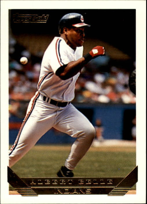1993 Topps Gold #635 Albert Belle