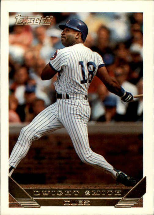 1993 Topps Gold #688 Dwight Smith