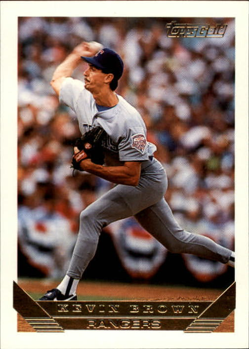 1993 Topps Gold #785 Kevin Brown front image