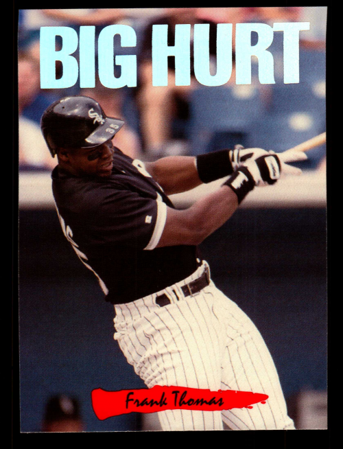 1993 Triple Play Nicknames #1 Frank Thomas/Big Hurt