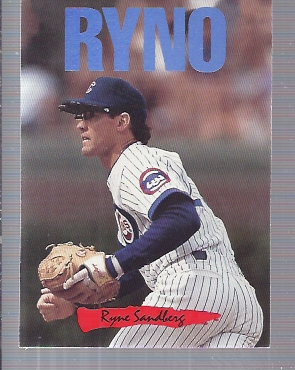 1993 Triple Play Nicknames #3 Ryne Sandberg/Ryno