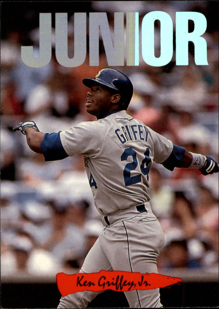 1993 Triple Play Nicknames #5 Ken Griffey Jr./Junior