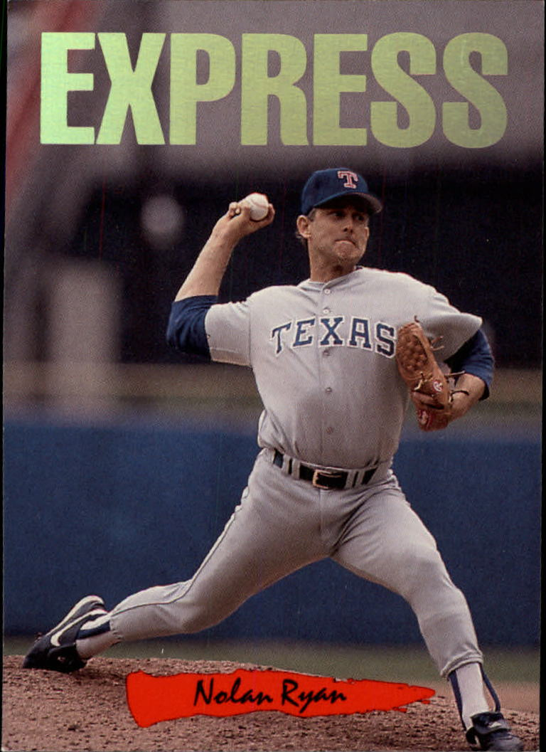 1993 Triple Play Nicknames #7 Nolan Ryan/Express