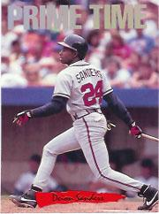 1993 Triple Play Nicknames #8 Deion Sanders/Prime Time
