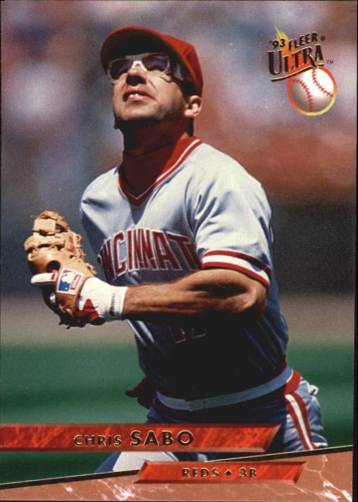 1993 Ultra #35 Chris Sabo