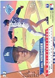 1993 Ultra #55 Orel Hershiser back image