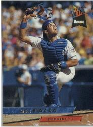 1993 Ultra #60 Mike Piazza