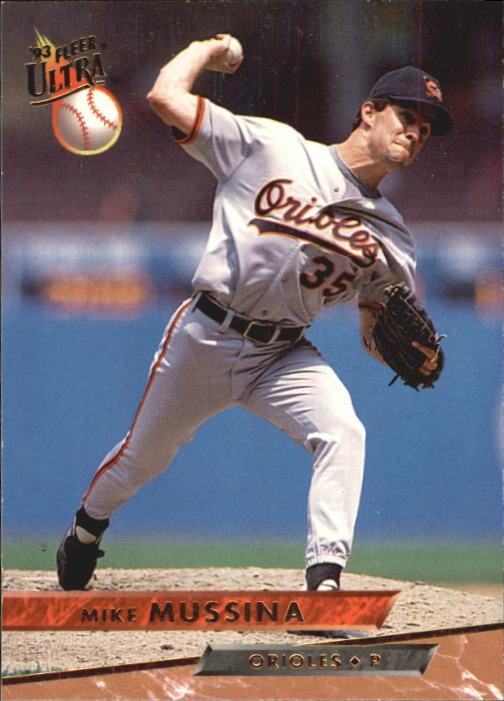 1993 Ultra #144 Mike Mussina