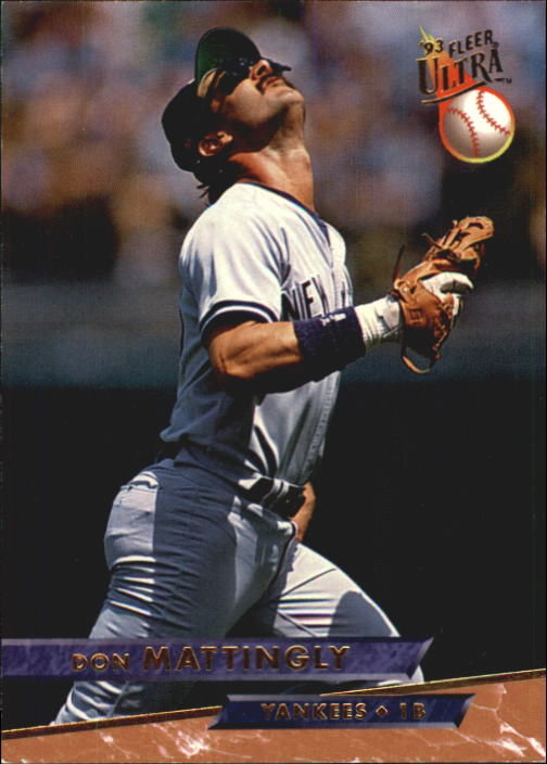 1993 Ultra #244 Don Mattingly