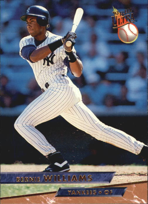 1993 Ultra #252 Bernie Williams