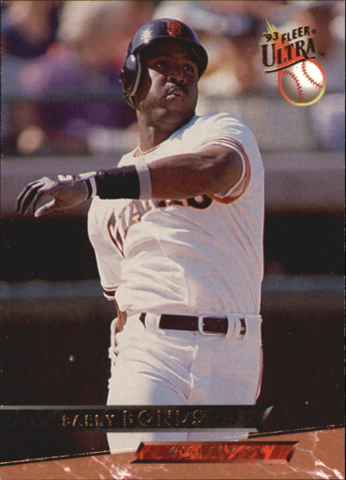 1993 Ultra #483 Barry Bonds
