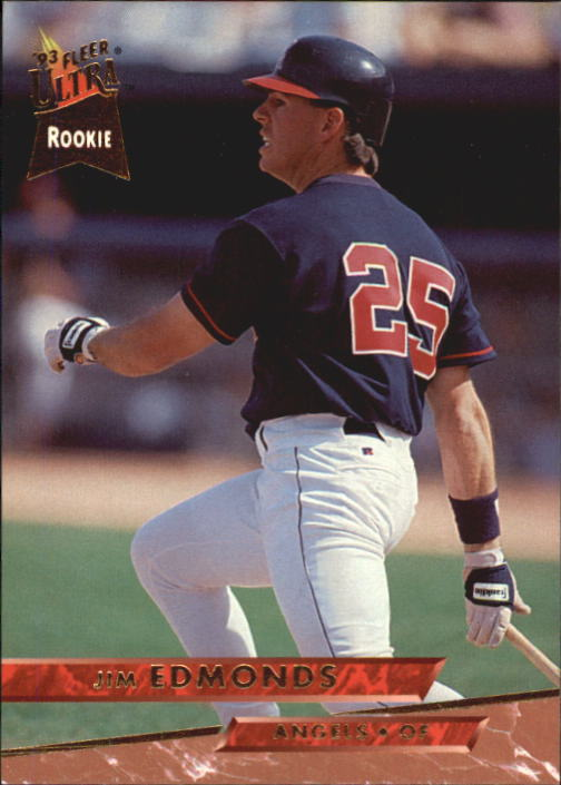 1993 Ultra #519 Jim Edmonds RC