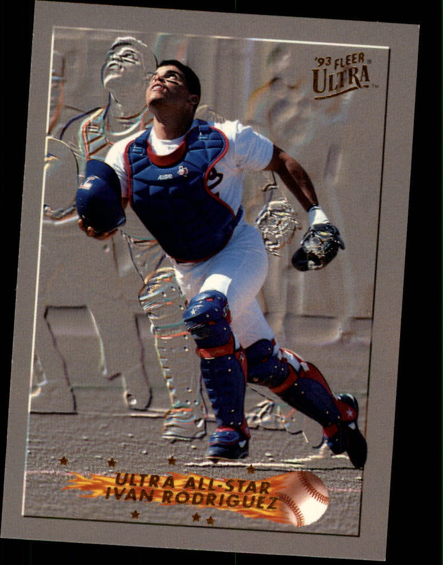 1993 Ultra All-Stars #11 Ivan Rodriguez