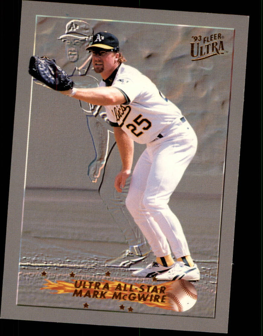1993 Ultra All-Stars #12 Mark McGwire